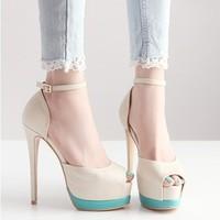 весной и осенью и новых одного обувь пятки на высоких каблуках высокие с клуб обувь на