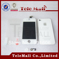 Free Shipping ! Wholesale ( Perfect Quality Guaranteed ) LCD Touch Screen Digitizer Assembly For iPhone 4 4G  WilSTMIP4G00017