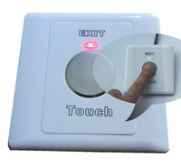 Factory Free shipping+Exit touch button for access control systems+waterproof+2 pieces