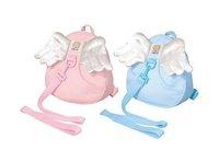 Angel Toddler Safety Harness kid Cotton Reins Baby Sling Backpack Child Walker Buddy Carrier Infant Back Pack - sample