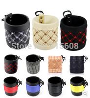 Outlet zhiwu dai car sundries bag cell phone pocket car storage bag debris bucket storage bag