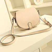 Free Shipping Candy Color PU Leather Cross Body bag for lady Women Shoulder Handbag Female Messenger bag #0087