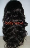 18inch 180density,1B# hair color,medium cap size,100% virgin human hair silk top full lace wig