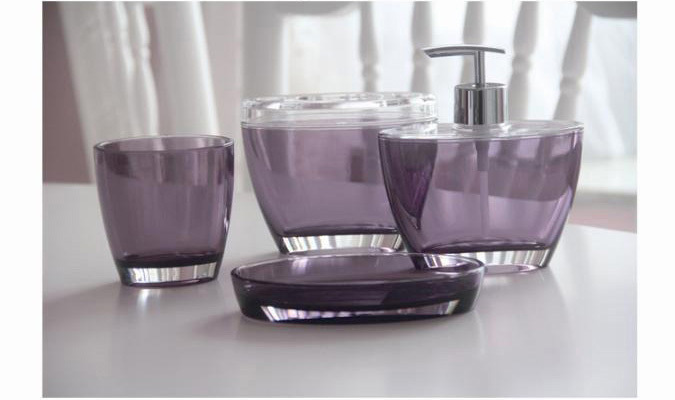 French Style Acrylic Bathroom Set 4pieces Bath Set 4pcs