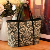 Big discount Summer Korean Lace Tote Bag for Lady Lovely Women Shoulder Handbag Female Hobo Bag #0094