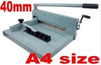 Desktop Stack Paper Cutter Guillotine A4 size Cutting Machine 40mm thickness