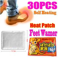 Free Shipping! 30 Packs Winter Body Warmer Heat Patch Hand Foot Warmer Hot Pad Heating Heat Wrap Brand NEW