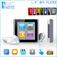 "HOT! Mini Portable Sport 1.8"" Touch 32GB Mp4 Player MP3 Music/FM Radio/Video/Photo/E-Book/Voice Recorder With Original Box(Good)"