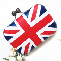 Free Shipping UK Flag Bag with Cross Body Chain Day Clutch for Party 4PCS A Lot Union Jack Flag Handbag Wholesale Drop Shipping