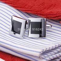 High Quality Hot Sale Brass Stamping Gemelos Mens Fashion Cuff Links Wedding Custom Enamel Cufflinks