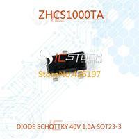 ZHCS1000TA DIODE SCHOTTKY 40V 1.0A SOT23-3 1000 ZHCS1000 30pcs