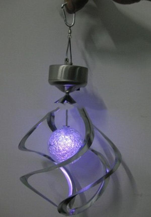 Portable Stainless Steel Garden LED Light Art Deco Led Solar Lamps Garden Outdoor Lighting(China (Mainland))