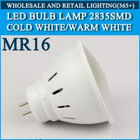 Wholesale 100PCS LED bulb lamp High brightness MR16 4W 5W 2835SMD Cold white/warm white AC220V 230V 240V Free shipping