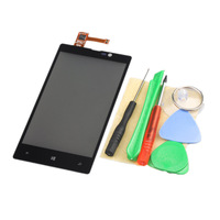 Wholesale,Free Shipping , Black Touch Glass Lens Digitizer Tools For Nokia Lumia 820