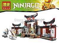 Free shipping Phantom Ninja series Thunder Swordsman Ninjago Minifigures toys building block sets toy eductional children toys