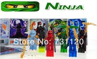 Free shipping! Decool Phantom Ninja 4 Generations. 6 Style/Set, 0021-0026 Children's Building Blocks Doll Toys No Original Box!