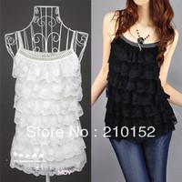 New 2014 Summer Hot the Women's waistcoats vest tanks top sports shirt is female chiffon t shirts Free Shipping Promotion