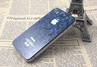 For iphone  4 4s 3d membrane rhombus protective film decaration anti scratch resistant film protector