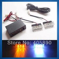 3LEDX2 6 LED Car Strobe Light 12V Flash Warning Light 51035-2