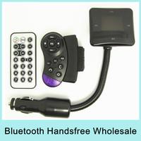 Wholesale X3 Bluetooth Handsfree Car Kit FM Modulator Transmitter Car MP3 Tune Base FM Support SD / MMC Card / USB Flash Disk