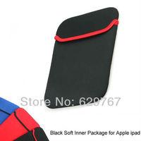 Wholesale Fashion Black Sleeve Case Bag For Apple iPad 4 3 2 Drop ship