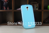 Soft TPU Case for Fly IQ451 Vista Pudding Style Clear Blue Silicon Case Free Shipping