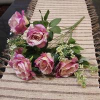 Artificial Flowers For 2  pcs  large rose  silk home wedding decoration flower flores artificiales