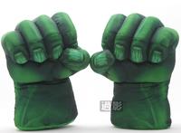 Set of 2 Incredible Hulk Smash Hands Plush punching Boxing Type Gloves Fist Gift