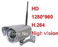 1pcs Foscam Wireless WiFi IP Camera HD 1280x960 1.3M pixel H.264 audio FI9805W for HK post air mail free shipping