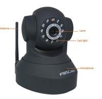 1PCS CCTV Foscam FI9818W H.264 HD Mega Pixels WIFI Wireless IR-CUT Pan/Tilt IP Camer