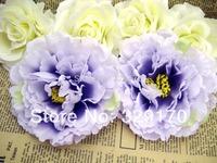 "2pcs peony Head Artificial Silk Flower Heads Craft Wedding 4.8""/12cm SF107"