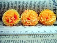 "10X Gerbera Daisy Head Artificial Silk Flower Heads Craft Wedding 1.6""/4cm SF97"