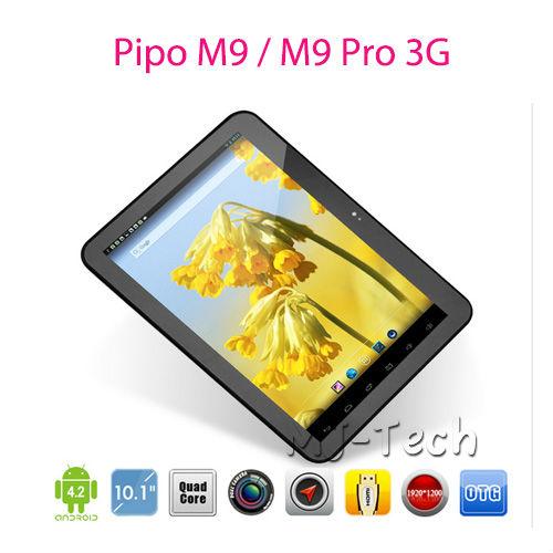 """Nuevo 2013! Pipo m9 pro 3g/pipo m9pro 10.1"""" pantalla retina 2gb/32gb 4"""