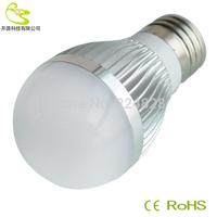 Hot Sale 3w Led Bulb E27 B22 E14 Base Led Light High quality 300lm 110v 220v Warm White/White E27 Led  Bulb Free Shipping