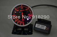 Auto Car Meter 60mm Defi Link Advanced BF Turbo Boost Gauge Stepper Motor  red white Light