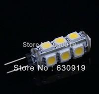 10 pcs G4 2.6W 210Lumen 13 SMD 5050 LED Light 3500K Warm White corn Bulb Lamp DC 12V