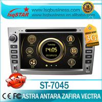 LSQ Star Manufacturer Opel Astra/ Corsa/ Antara/ Zafira/ Vectra Car DVD with GPS Radio ipod bluetooth 6 Disc SWC 3G hotselling