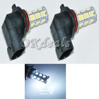 2 X   Car 18 5050 SMD white LED H11 Lights Fog Bulb Lamp