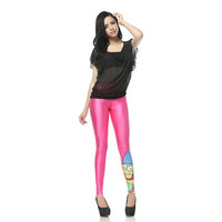 2014 NEW spring arrival brand popular fashion women's Leggings milk digital print pants marge simpson Leggings  SEXY!