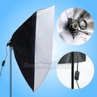 50x70cm Studio Folding Easy Soft Box Softbox with E27 Socket Bulb Lamp Holder 220V~240V EU UK Plug