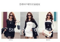 2013 Women Ladies Sexy Cotton Lace Dress, Maxi Casual Dress S M L XL For Spring and Autumn Promotio   624-y23-0-(g220-C)