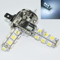 2X   Car H1 5050 SMD 13 LED White Head Fog Headlight Light Lamp Bulb DC 12V New