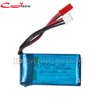 Free shipping Wholesale WL V912 spare parts 7.4V 1000mAh battery V912-21 for WL V912 2.4G 4CH RC Helicopter