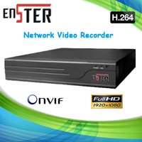 4 Channel H.264 Full HD Standalone NVR,support ONVIF protocol Network Video Recorder,4*720P/4*D1 100M network