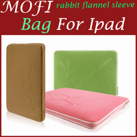 MOFI For iPad2 ipad3 AIPAI rabbit flannel sleeve ipad 4 protective sleeve soft and delicate
