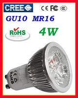 10x   GU10 4w Warm Cool White Downlight High Power Energy Saving Light Lamp Bulb 85V-265V