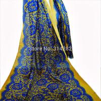 2013 new free shipping plain design printe lace scarf/shawls signature cotton Bohemia long muslim popular scarves 10pcs/lot