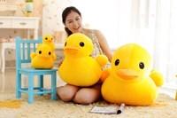 50CM big yellow  duck plush toys, factory wholesale girls Women Christmas present for kids free shipping