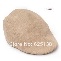 2014 new spring hat Summer male women's lovers design linen beret comfortable breathable mesh cap sunbonnet free shipping