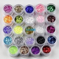 Finger glitter nail art laser powder gradient nail art glitter shining paillette 10g powder